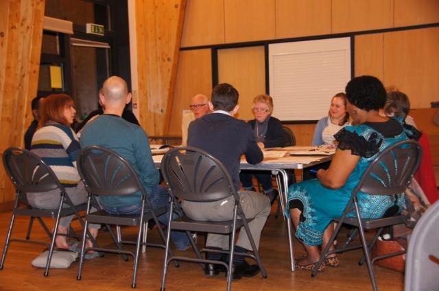 A Parish Pastoral Council meeting